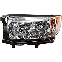Driver Side Headlight, With bulb(s) - 06-08 Forester, w/o Sport Package Model