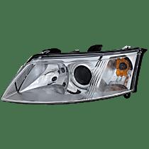 Convertible/Sedan/Wagon, Driver Side Headlight, With bulb(s)