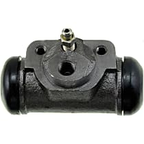Wheel Cylinder - Direct Fit, Sold individually Rear, Driver Side