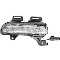 Passenger Side Driving Light, With bulb(s) - With RS Package
