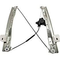 Window Regulator - Front, Passenger Side, Power with Motor
