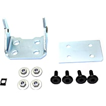 Replacement Door Hinge - RC46390001 - Front, Passenger Side, Lower, Chrome, Direct Fit, Sold individually