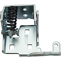 Door Hinge - Front, Passenger Side, Lower, Chrome, Direct Fit, Sold individually