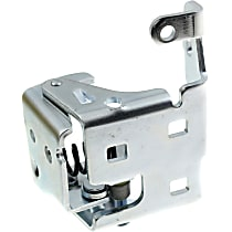 Door Hinge - Front, Driver Side, Lower, Chrome, Direct Fit, Sold individually