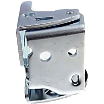 Door Hinge - Rear, Passenger Side, Lower, Chrome, Direct Fit, Sold individually