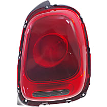 Passenger Side Tail Light, With bulb(s) - Red Lens, w/ Halogen Headlights, Convertible 16-17/Hatchback