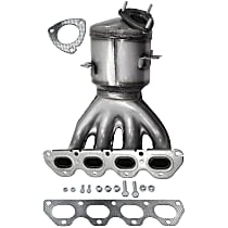 Front Catalytic Converter with Integrated Exhaust Manifold For Models with 1.8L Eng 46-State Legal (Cannot ship to CA, CO, NY or ME)