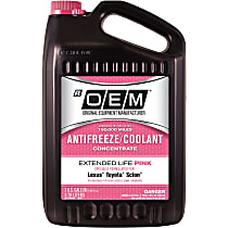 86-174POEM OEM Extended Life Pink Series Coolant/Antifreeze 1 Gallon Sold individually