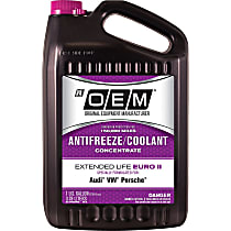 86-314POEMVW OEM Extended Life Euro II Series Coolant/Antifreeze 1 Gallon Sold individually