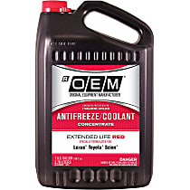 86-374ROEM OEM Extended Life Red Series Coolant/Antifreeze 1 Gallon Sold individually