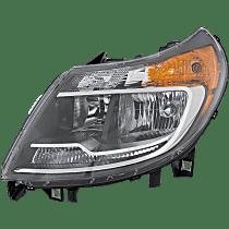 Halogen Headlight, With bulb(s)
