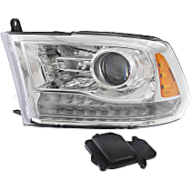 Driver Side HID/Xenon Headlight, With bulb(s)