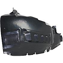 Fender Liner - Front, Driver Side, with Fog Lights Holes
