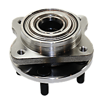 Front Wheel Hub Bearing Assembly Driver or Passenger Side For FWD Models with 14 in. Wheels