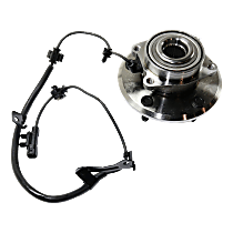 Rear, Driver Side Wheel Hub - Sold individually