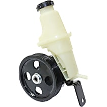 Power Steering Pump - With Pulley, With Reservoir