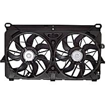 OE Replacement Radiator Fan - Fits 07-13 Silverado 4.8L/5.3L/6.0L