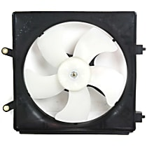OE Replacement Radiator Fan - 01 Civic, Toyo-Brand, Passenger Side