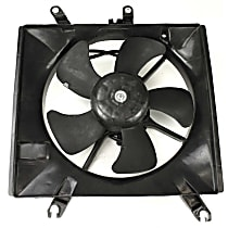 OE Replacement Radiator Fan - w/ Auto Trans., Driver Side