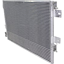 Kool Vue A/C Condenser - KVAC3586 - Direct Fit, With Integrated Oil Cooler