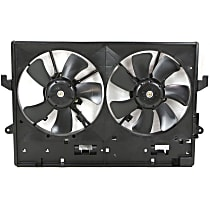 OE Replacement Radiator Fan - w/ Factory Air