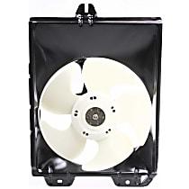 OE Replacement A/C Condenser Fan - Fits 1.5L/1.8L, Passenger Side