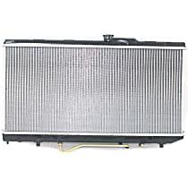 Item Auto Radiator RDXP1174 - Plastic, Aluminum, 13 x 27 in. core, Direct Fit; GT/GTS Models w/Auto Trans.