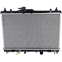 Item Auto Radiator RDXP13002 - Plastic, Aluminum, Direct Fit; With Auto CVT Transmission