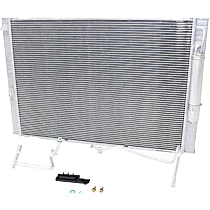 Item Auto Radiator RDXP13004 - Aluminum, Aluminum, 25 x 18 in. core, Direct Fit; Radiator/Condenser combo