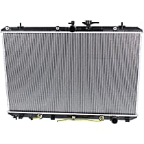 Item Auto Radiator RDXP13024 - Plastic, Aluminum, 19 x 30 in. core, Direct Fit; 3.5L Gas, w/Tow Package