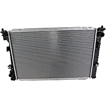 Item Auto Radiator RDXP13040 - Plastic, Aluminum, 27 x 18 in. core, Direct Fit; 4cyl Engines, Excludes Hybrid