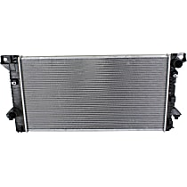 Item Auto Radiator RDXP13045 - Plastic, Aluminum, 31 x 16 in. core, Direct Fit; w/Tow Pkg. (Without Filler Neck)