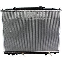 Aluminum Core Plastic Tank Radiator, 21.63 x 30.25 x 1 in. Core Size