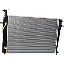 Item Auto Radiator RDXP13074 - Plastic, Aluminum, Direct Fit; 2.0L w/Auto AC (2007-09)