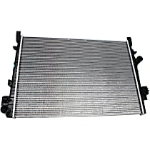 Aluminum Core Plastic Tank Radiator, 25.19 x 18.69 x 0.63 in. Core Size