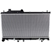 Item Auto Radiator RDXP13095 - Plastic, Aluminum, 13 x 27 in. core, Direct Fit; 2.5L Turbo