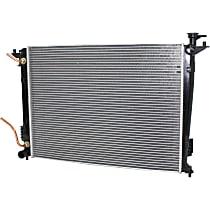 Item Auto Radiator RDXP13150 - Plastic, Aluminum, Direct Fit; w/Auto Transmission