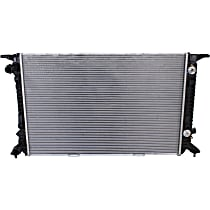 Item Auto Radiator RDXP13188 - Plastic, Aluminum, 28 x 18 in. core, Direct Fit; 4cyl