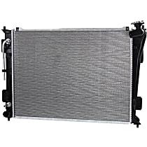 Item Auto Radiator RDXP13191 - Plastic, Aluminum, 25 x 19 in. core, Direct Fit; Fits 2.4L; Excludes Hybrid