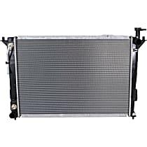 Item Auto Radiator RDXP13192 - Plastic, Aluminum, 26 x 19 in. core, Direct Fit; 2.4L w/ Auto Trans.