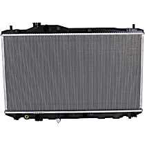Item Auto Radiator RDXP13265 - Plastic, Direct Fit; 1.8L, Replaces Denso type(Japan-built vehicles)