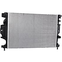 Item Auto Radiator - Aluminum, Plastic - P13321 - 2013-2017 Ford Fusion - 1.6L Auto. Trans. / 2.5L