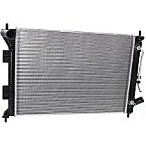 Item Auto Radiator RDXP13333 - Plastic, Aluminum, 22 x 16 in. core, Direct Fit; w/Auto Transmission