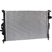 Item Auto Radiator RDXP13352 - Plastic, Aluminum, 26 x 18 in. core, Direct Fit; Turbo models