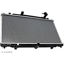 Aluminum Core Plastic Tank Radiator, 29.5 x 15 x 0.5 in. Core Size