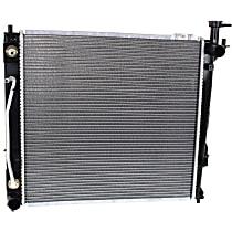 Item Auto Radiator RDXP13373 - Plastic, Aluminum, 20 x 19 in. core, Direct Fit; Sport model, 2.0L Engine