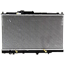 Item Auto Radiator RDXP1776 - Plastic, Aluminum, w/Auto Trans Cooler, Direct Fit; 6cyl