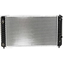 Item Auto Radiator RDXP1826 - Plastic, Aluminum, 26 x 15 in. core; w/Auto Trans Cooler and Engine Oil Coolers, Direct Fit; 4.3L V6