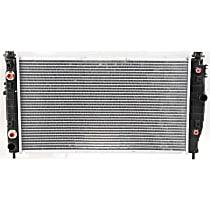 Item Auto Radiator RDXP2184 - Plastic, Aluminum, 26 x 15 in. core, Direct Fit; w/Engine Oil Cooler