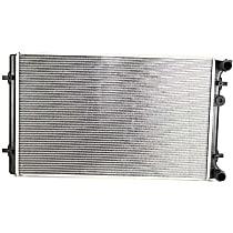 Aluminum Core Plastic Tank Radiator, 25.57 x 15.63 x 0.88 in. Core Size